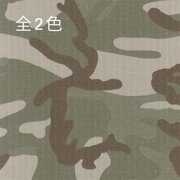 [OS2229]アーミーリップストレッチ顔料迷彩プリント