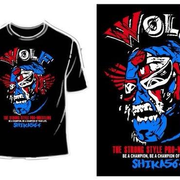 【9月上旬発送予定】WOLF Tシャツ