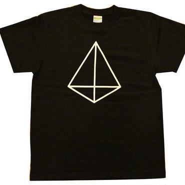 プルサコーフロゴ Tシャツ(黒)