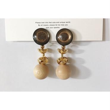 ●beads___assembly  1 pierced earrings
