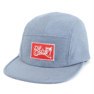FRAME  FLOCKY COMFORT-5 CAP (MIX BLUE) made in japan (SH160105MXB)