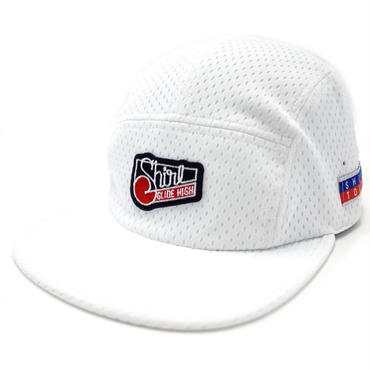 WHITE MESH COMFORT-5 CAP (WHITE) made in japan (SH170103WHT)