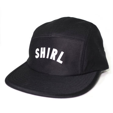 REFLECTOR ARCH LOGO  COMFORT-5 CAP (BLACK) made in japan (SH150109BLK)