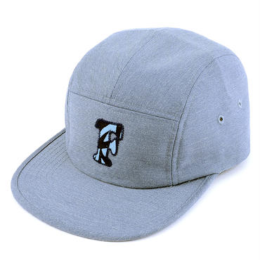 "[WAIF ONE x SHIRL]コラボ ""F""  COMFORT-5 CAP (MIX BLUE) made in japan (SH160107WAF)"
