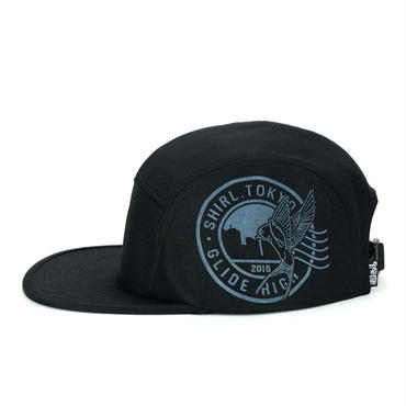 STAMP COMFORT-5 CAP (BLACK) made in japan (SH150101BLK)