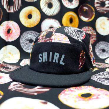 DONUTS COMFORT-5 CAP (BLACK/DONUTS) made in japan (SH170109DNT)