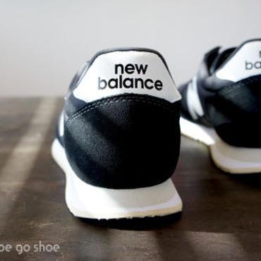 ★ LADY'S モデル ★ Newbalance (ニューバランス) /  WL220 TD ブラック