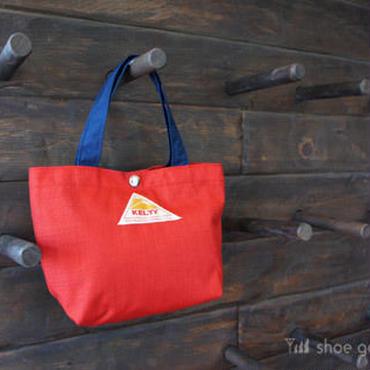 KELTY ケルティ / Mini tote Bag S(ミニトート バック S)/ RED×NAVY