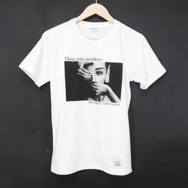 MADE IN JAPAN:Print T-Shirts Three Wise Monkey・半袖Tシャツ [WHITE]
