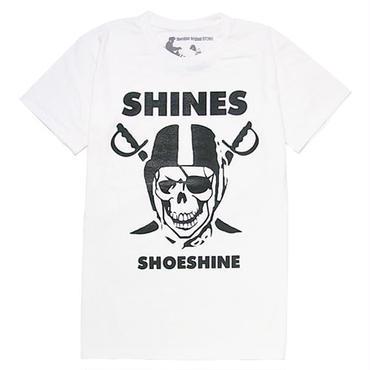 MADE IN JAPAN:Print T-Shirts SHINES/シャインズ・半袖Tシャツ [WHITE]