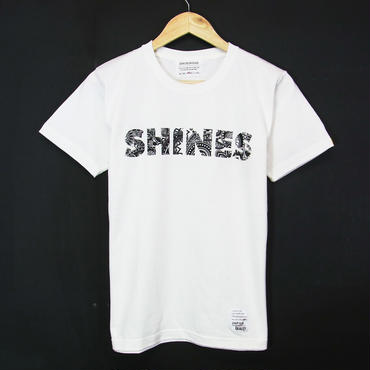 MADE IN JAPAN:Print T-Shirts Paisley SHINES・半袖Tシャツ [WHITE]