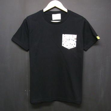 Playing Card - Pocket Tshirts:トランプ - ポケットTシャツ ブラック