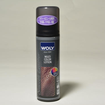 WOLY(ウォーリー)マルチカラーローション(ラバー・合成皮革用ケアローション)