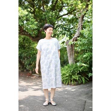 ミナ ペルホネン tanpopo half sleeveドレス