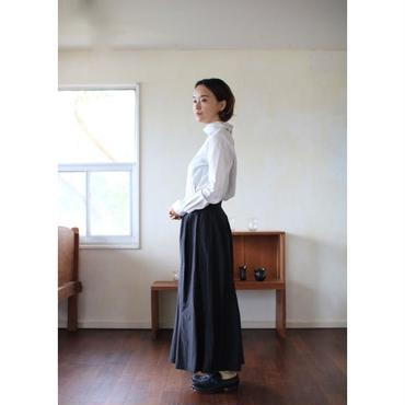 humoresque mix tuck skirt