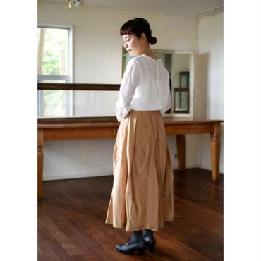 humoresque mix tuck skirt  - 2color -