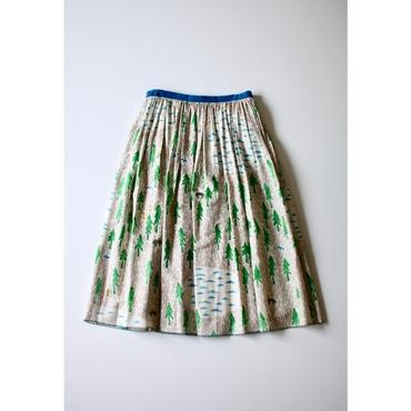 ミナ ペルホネン one day スカート