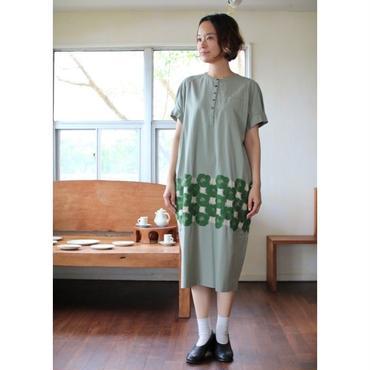 ミナ ペルホネン ランドリー Rosas ドレス - green -