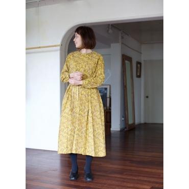 ミナペルホネン ランドリー      light stick ドレス  -mustard-
