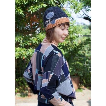 ミナ ペルホネン× hitomi shinoyama  giardino ニットキャップ*
