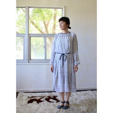 ミナ ペルホネン misty line  ドレス -white-