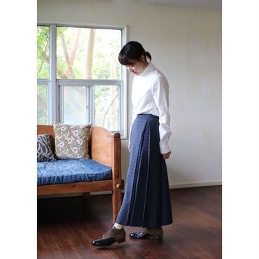 humoresque box pleated skirt