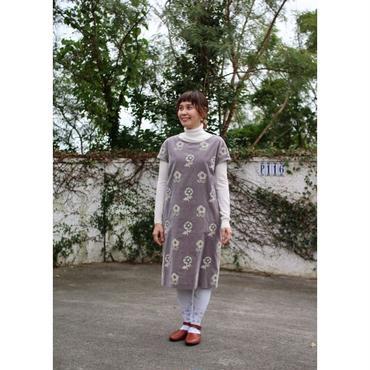 ミナ ペルホネン chum ドレス -gray-