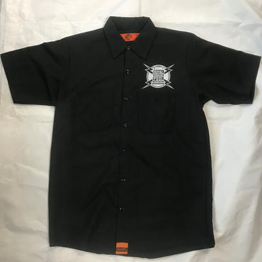"ROYAL HAWAIIAN POOL SERVICE ""SUPPORT YOUR LOCO""S/S WORK SHIRTS"