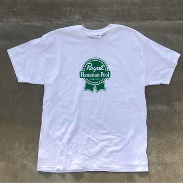 "ROYAL HAWAIIAN POOL SERVICE ""OG LOGO"" TEE WHITE"