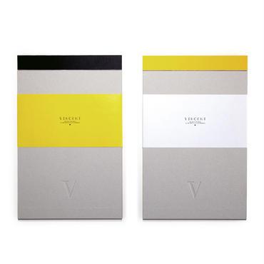 VINCENT × 印刷加工連 「Notepad」
