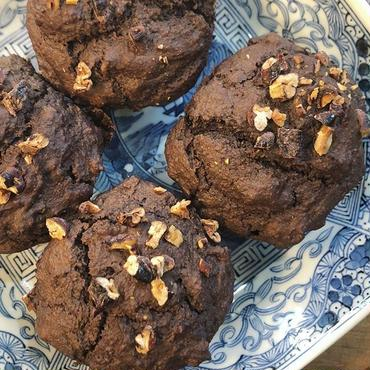 キャロブブラウニーマフィン Carob Browny Muffin Vegan