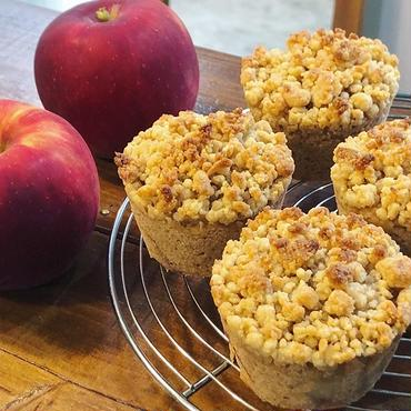 アップルコブラー Apple Cobbler Muffin Vegan