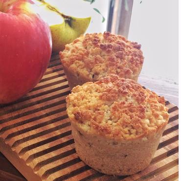 アップルコブラー Apple Cobbler Muffin Vegan