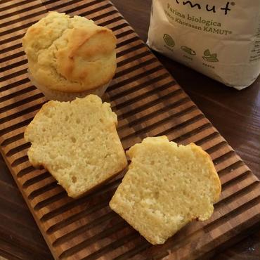 カムット・マフィン Unsweetened Kamut Muffin Vegan