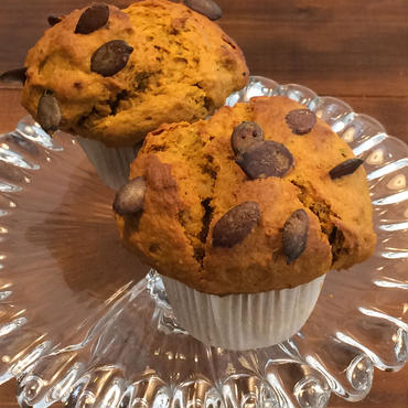 キャラメルパンプキン Caramel Pumpkin muffin vegan