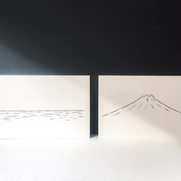 Noritake / SEA / MOUNTAIN (postcard)