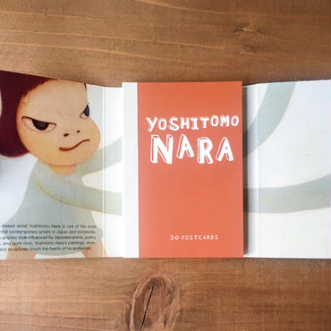 奈良美智  /   [OH! MY GOD! I MISS YOU.] Postcard Book