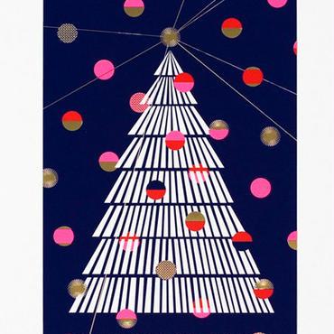 D-BROS / 大判クリスマスカード(ツリー)