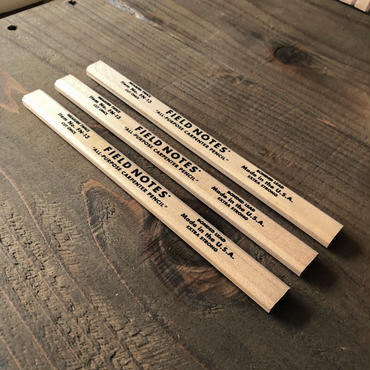 FIELD NOTES / Carpenter Pencils (3set)