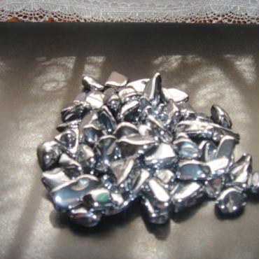 テラヘルツのしずく(大粒)50g /多結晶シリコン(ケイ素)純度99.9999%- 50g