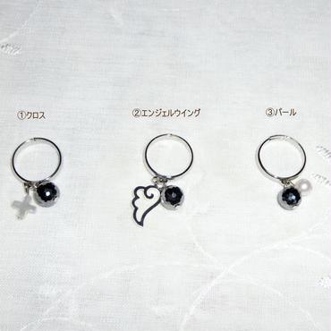 テラヘルツ☆リング(クロス・エンジェルウイング・パール)