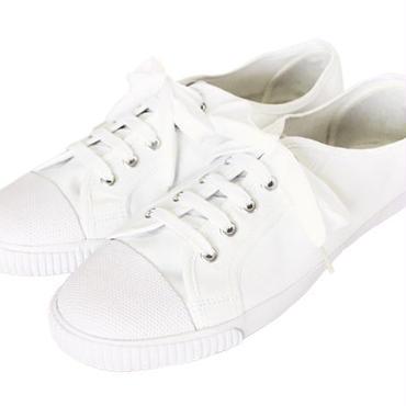 【メンズジョーカー掲載】Blackmans Shoes - ラバートゥ・プリムソールシューズ (ホワイト) メンズ