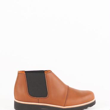 Deux Souliers (MEN) - Chelsea Boot #2 Natural サイドゴア・アンクルブーツ (ブラウン)【スペイン】【靴】【シューズ】【インポート】【VOGUE】