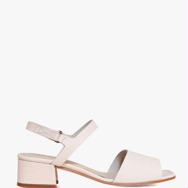 Deux Souliers (サンプルコレクション) - Sandal Semi Heel #1 ストラップサンダル (ボーン)