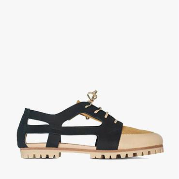 Deux Souliers (サンプルコレクション) - Cut Sandal #1 カットサンダル (Playa) 【スペイン】【靴】【シューズ】【インポート】【VOGUE】