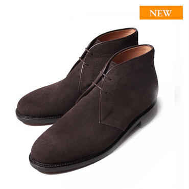 CH6601S-11 / D. Brown Suede|42ND ROYAL HIGHLAND Navy Collection