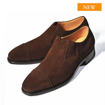 CH8001FS-11 / D.Brown Suede   42ND ROYAL HIGHLAND Navy Collection