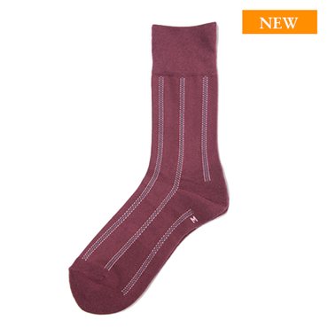 CT004-21 / Burgundy|CHICSTOCKS made in Japan