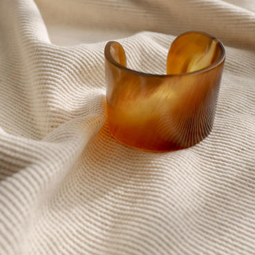 Found Buffalo horn bangle
