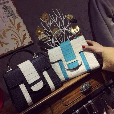 [バッグ]♪ワニパターン クロストートバック(5color)♪